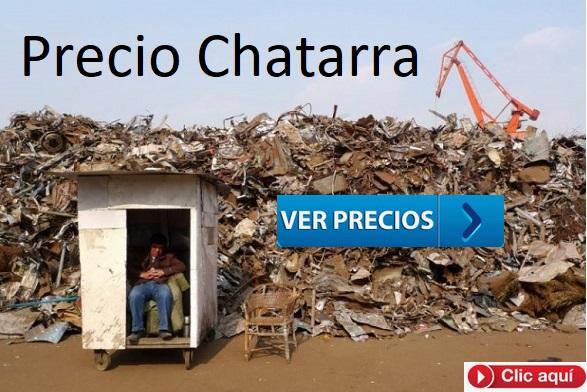 Precio de la Chatarra